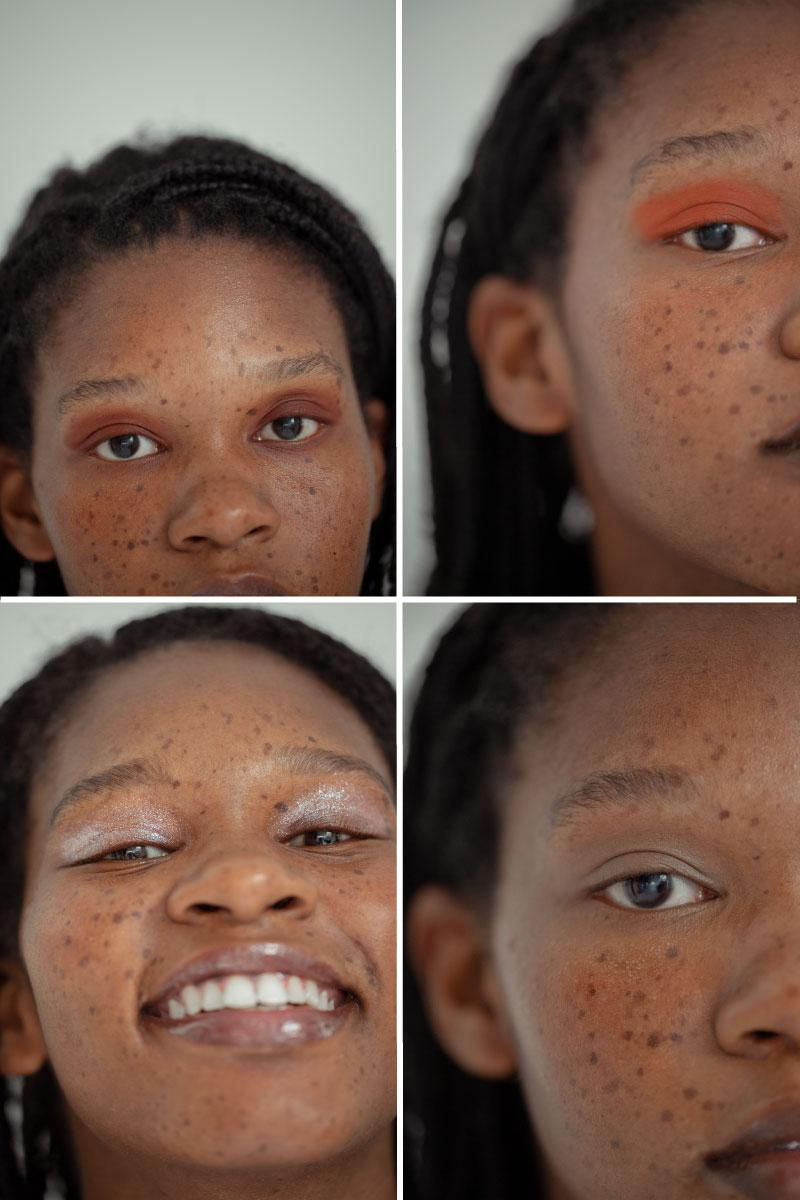 espressoh Chiara Cascella first eyeshadow palette simple makeup monochrome