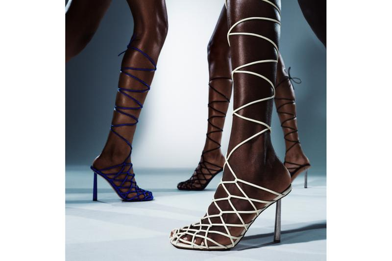 FENTY Amina Muaddi Footwear Collection 11-12 Release Date Stilettos Heels Sandals Shoes Designer Collaboration Where to Buy