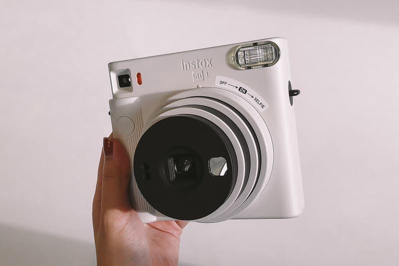 fujifilm instax square sq1 instant camera chalk white photography