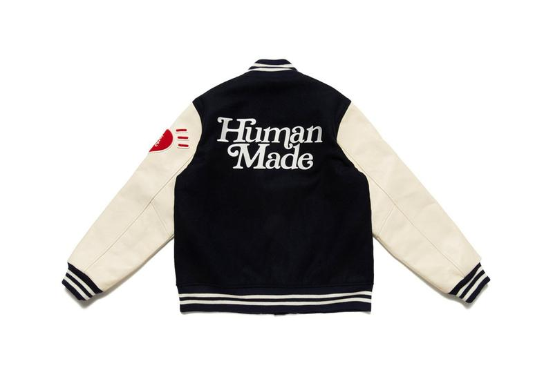 girls don't cry human made verdy nigo collaboration fleece varsity jackets home cups haircare shampoos