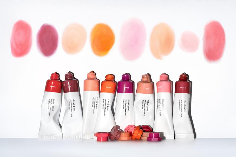 glossier cloud paint new shades colors liquid blushes spark eve release