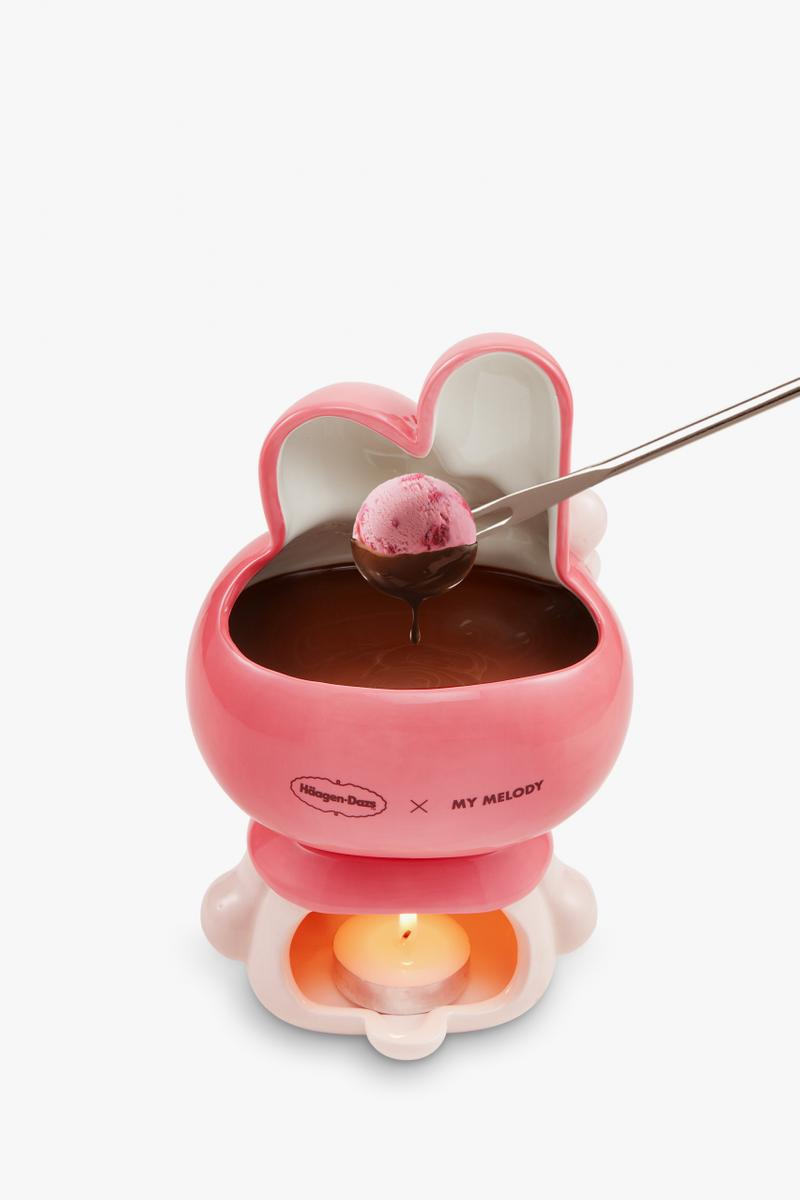Häagen-Dazs Sanrio Chocolate Fondue Collaboration Hello Kitty Pompompurin My Melody