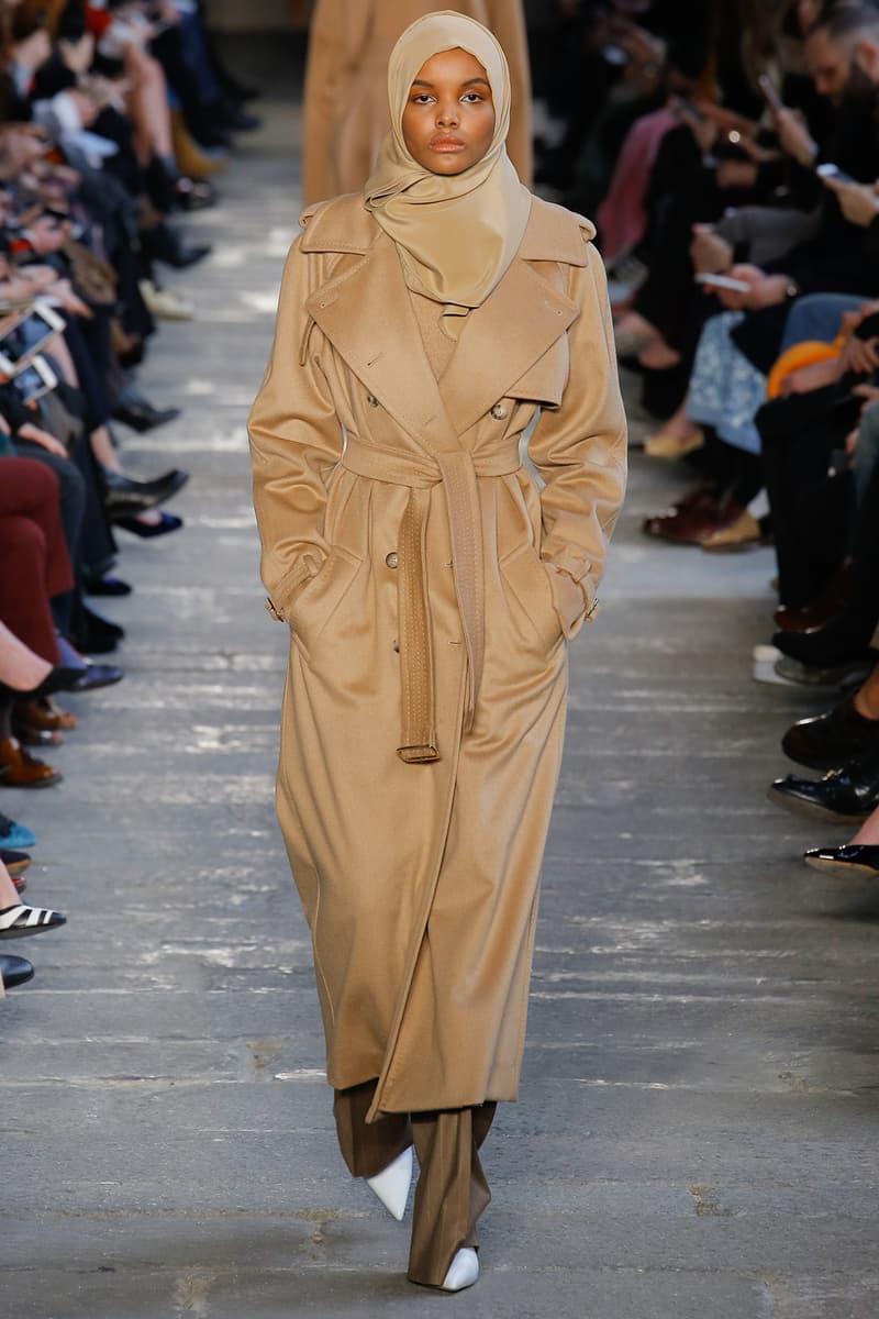 halima aden muslim hijab model max mara milan fashion week 2017