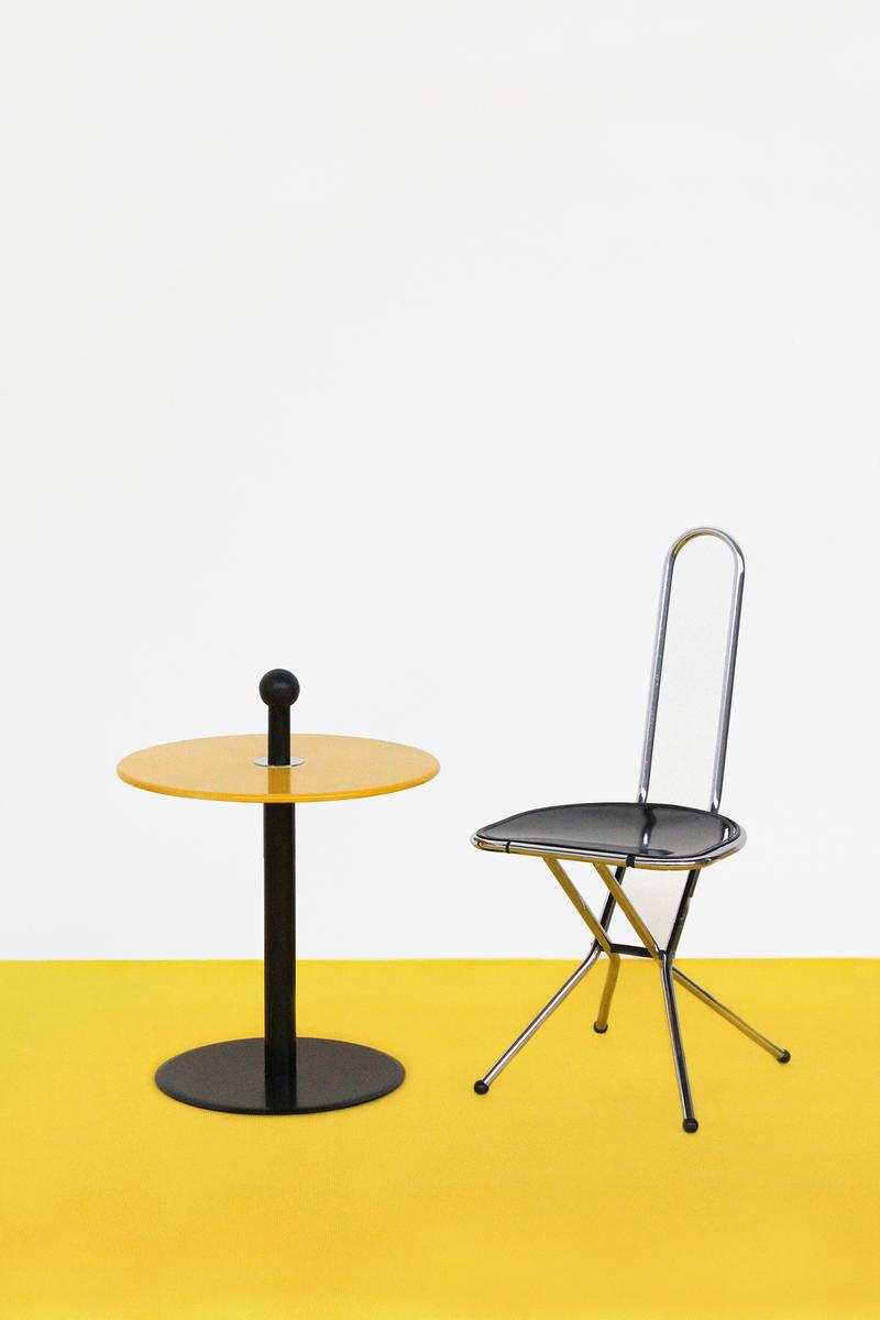 IKEA Vintage Furniture Chair Table