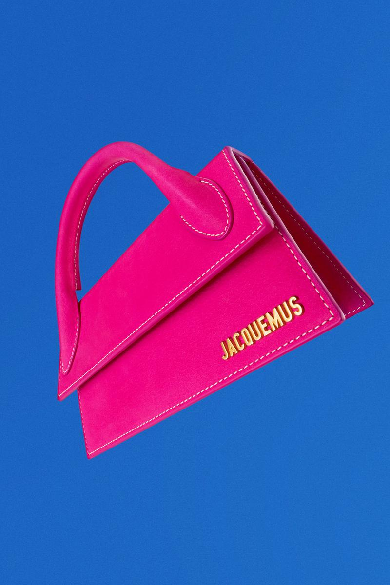 jacquemus fall winter lannee 97 collection campaign 90s retro laetitia casta le chiquito bambino handbags