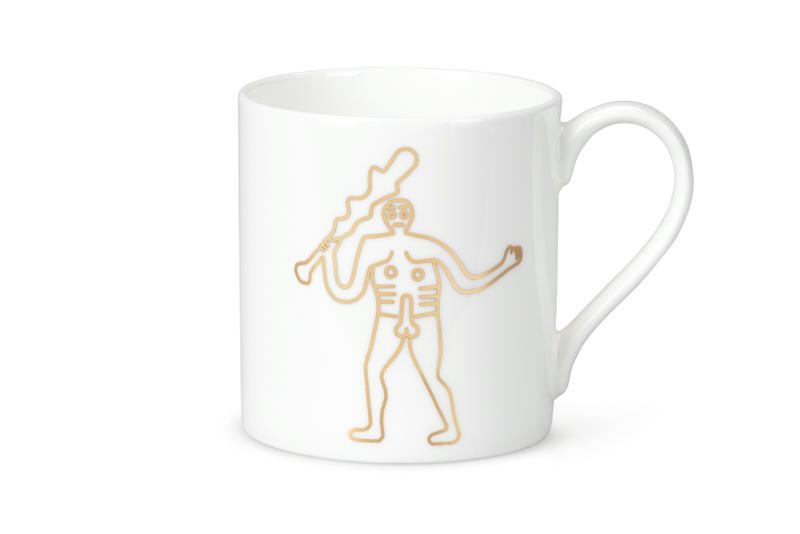 Jeremy Deller x Aries Penis Willy Cup Mug Plate