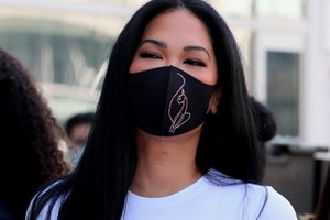 Picture of Kimora Lee Simmons' Baby Phat Drops Reusable Crystal Kitty Face Masks