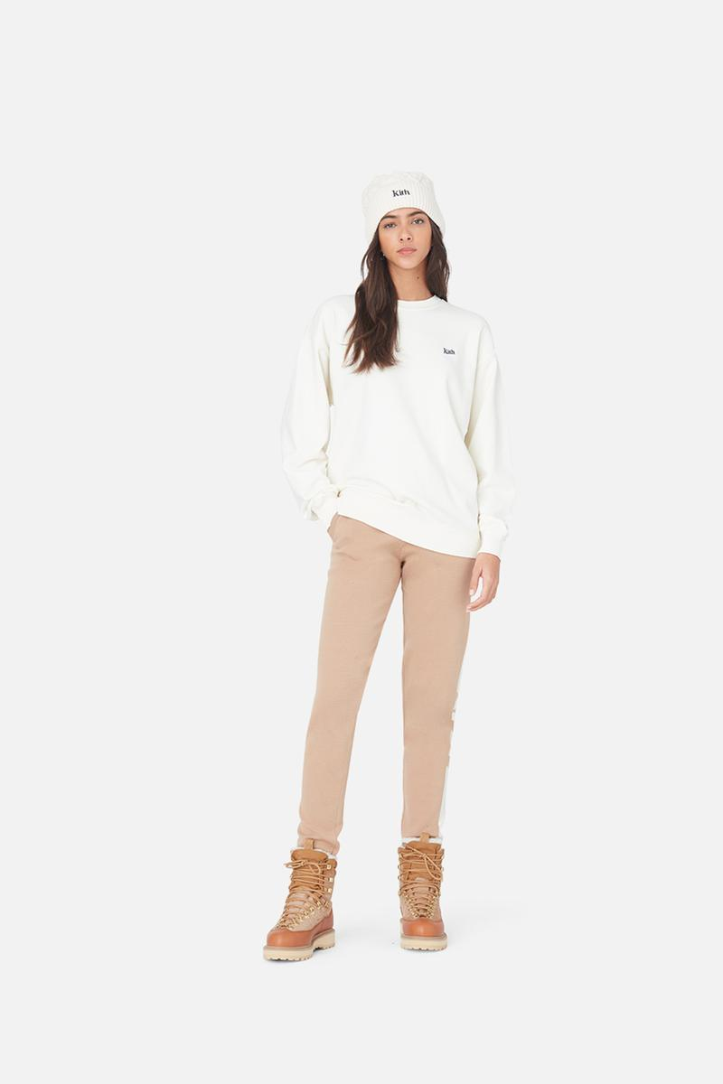 kith women winter collection outerwear jackets hoodies sweatpants