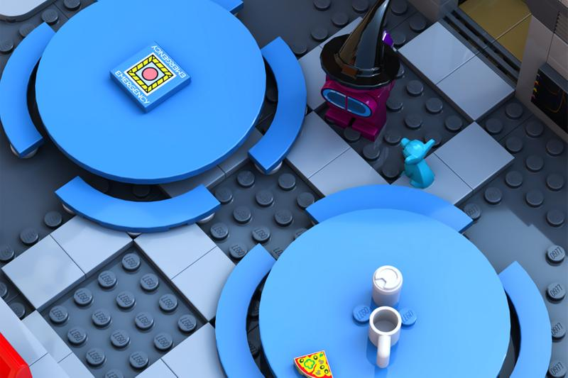 lego ideas among us video game the skeld map toys