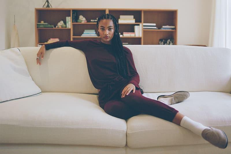 leset resort 2021 loungewear collection knitwear cardigan sweaters jogger pants release