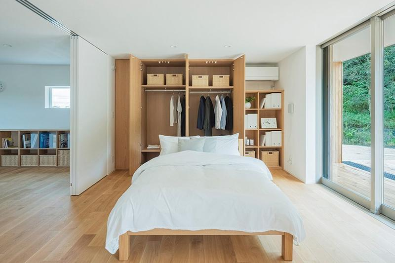MUJI Home House Micro Prefab Yo no le Interior Inside