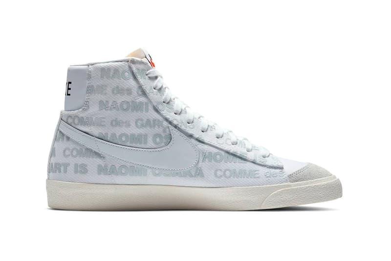 Naomi Osaka COMME des GARCONS x Nike Blazer Mid Collaboration