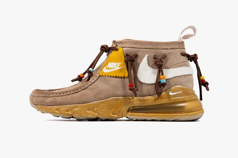 travis scott nike air max 270 visvim chukka cactus jack wallabee boots custom shoe giveaway