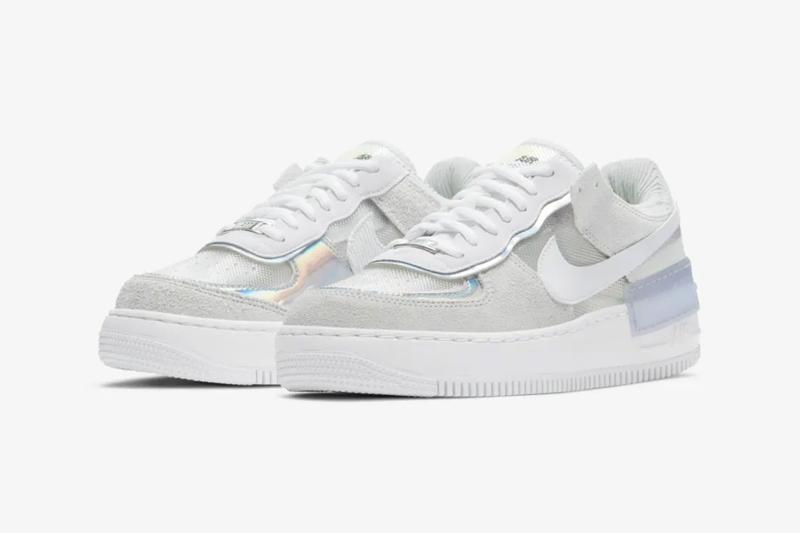 nike air force 1 af1 shadow pure platinum white womens sneakers price release