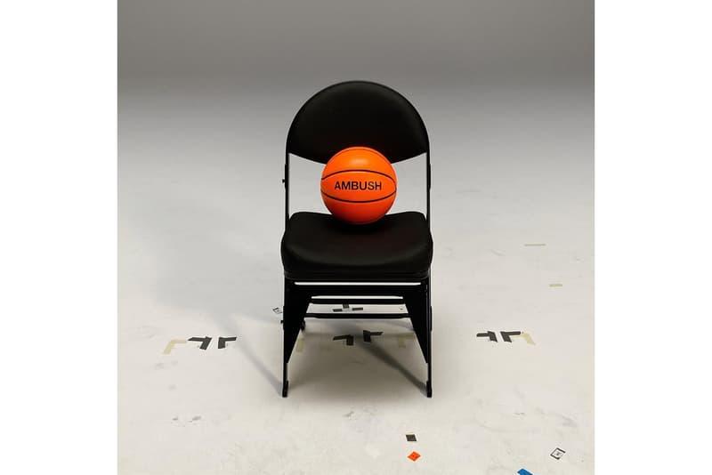 nike ambush yoon ahn nba wnba collaboration basketball headband jersey silver
