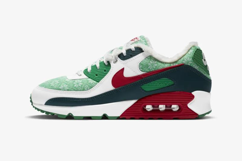 nike christmas nordic air force 1 high af1 air max 90 am90 blazer mid 77 vintage holiday sneakers release
