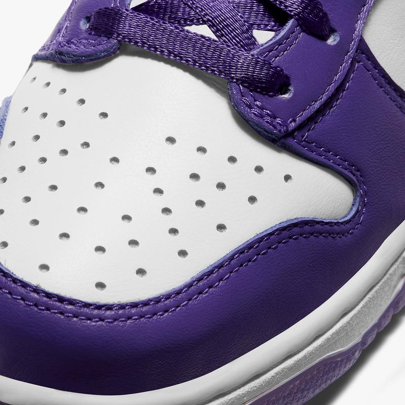 nike dunk high varsity purple white womens sneakers price release info DC5382-100
