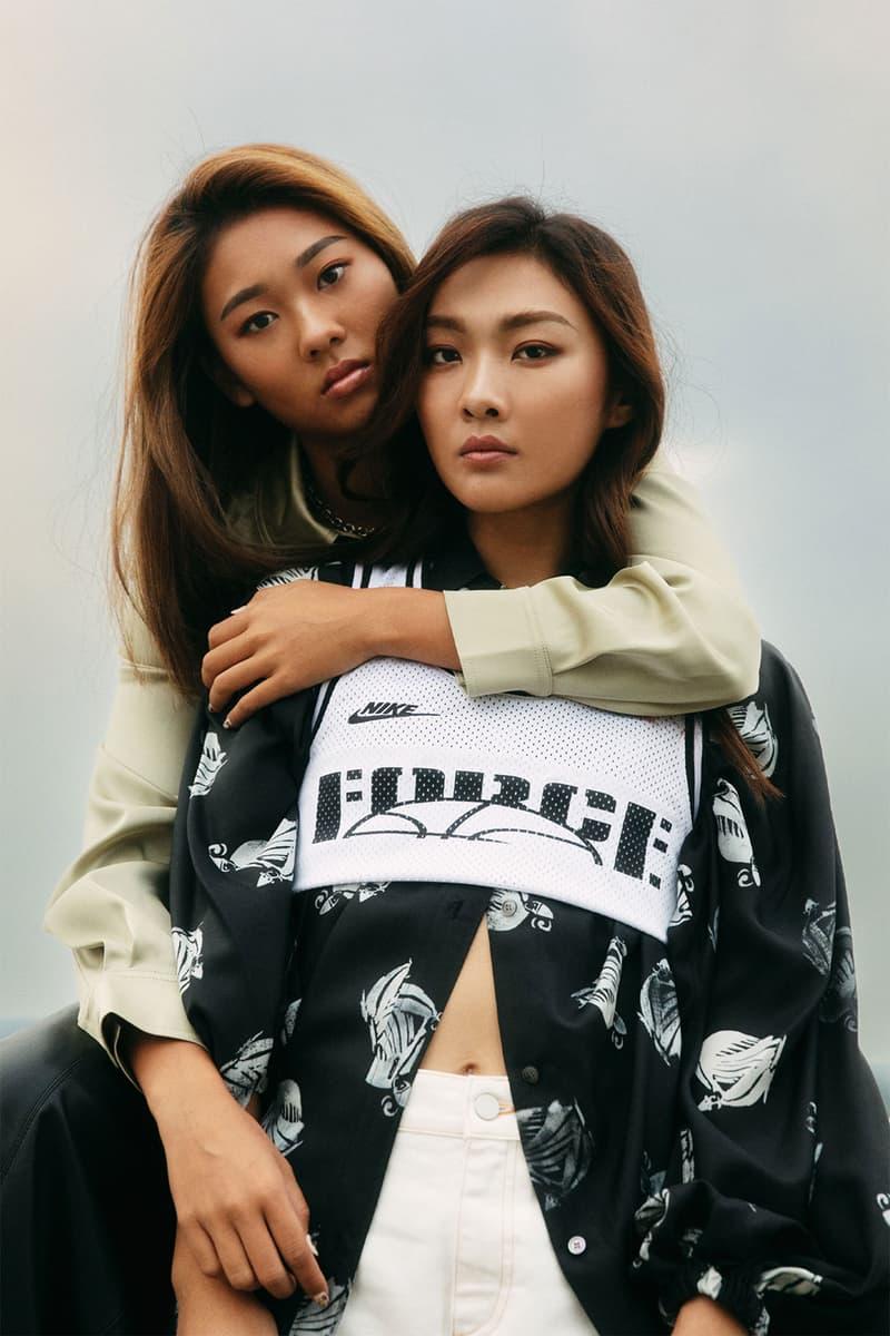 Nike BLAZER MID '77 INFINITE Kayla Irisa Wong Cecilia Yeung Tiffany Tang Sports interview