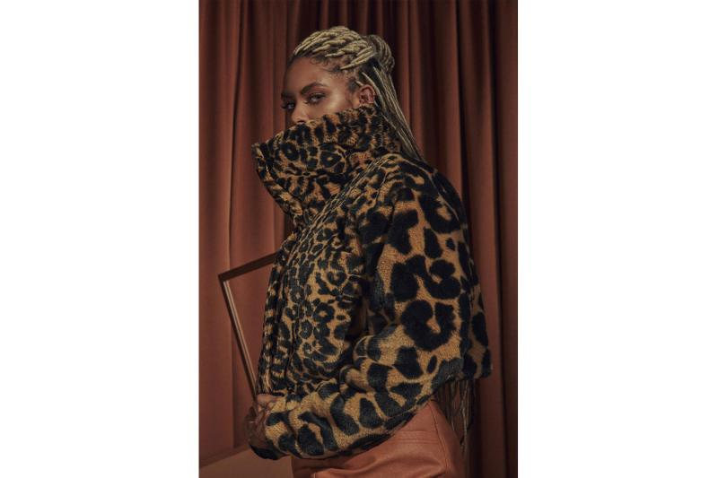 jordan brand nike court to runway holiday apparel womens collection fleece jackets animal leopard print release