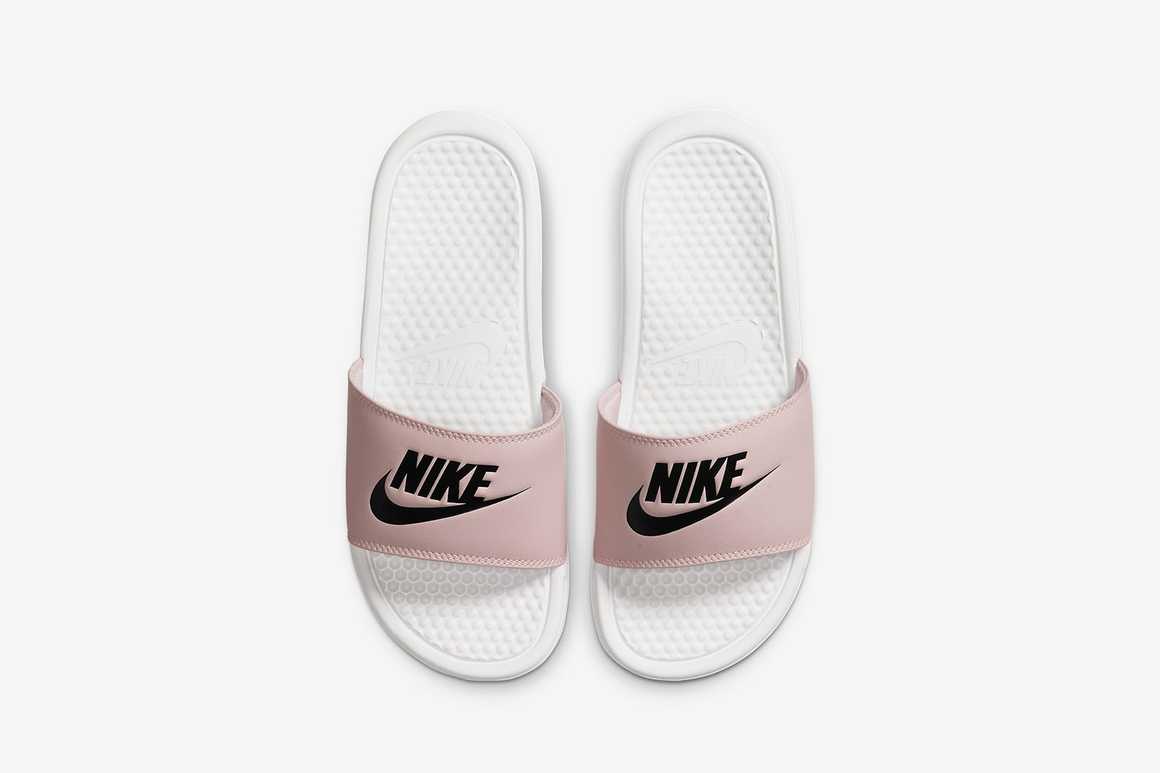 nike slippers for women pink