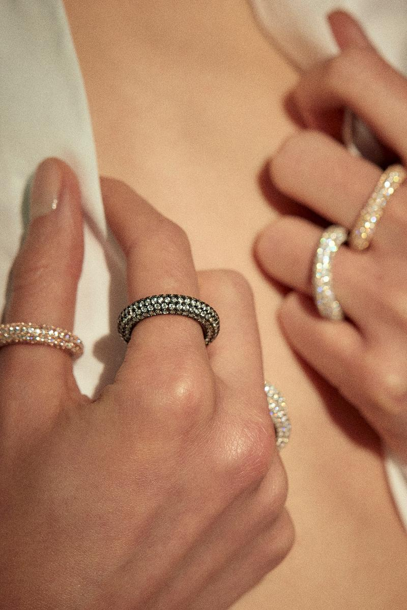 NUMBERING Korean Jewelry Brand CARAT Sustainable Diamond Collection Ring