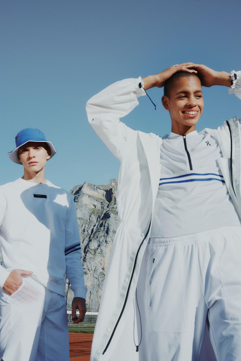 On Clubhouse Tennis Capsule Collection Activewear Sportswear Fashion Sporty