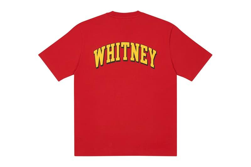 whitney houston palace skateboards collaboration varsity jackets sweatshirts charity foundation release