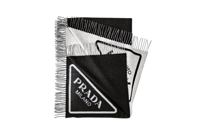 Prada Selfridges Holiday Pop-Up Capsule Collection Bags Accessories Water Bottle Fluffy Tote Bag Where to Buy Prada Logo