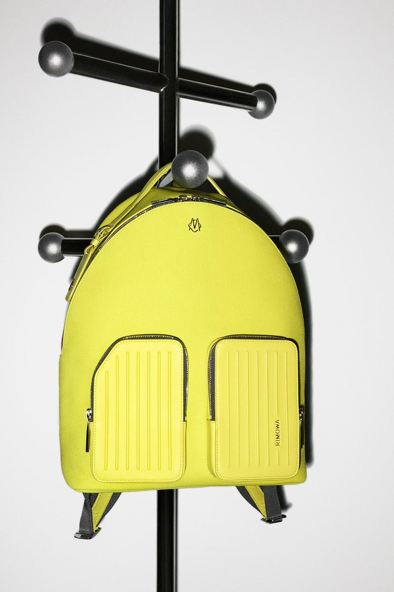 rimowa never still handbags backpacks totes collection pink gray yellow price release