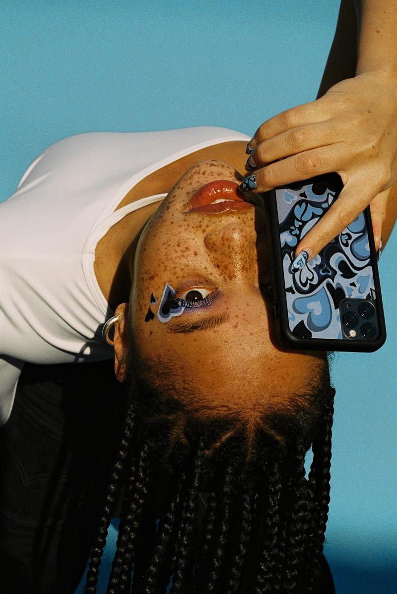Salem Mitchell Wildflower Cases Phone Case iPhone Blue Hearts Model Los Angeles Freckles