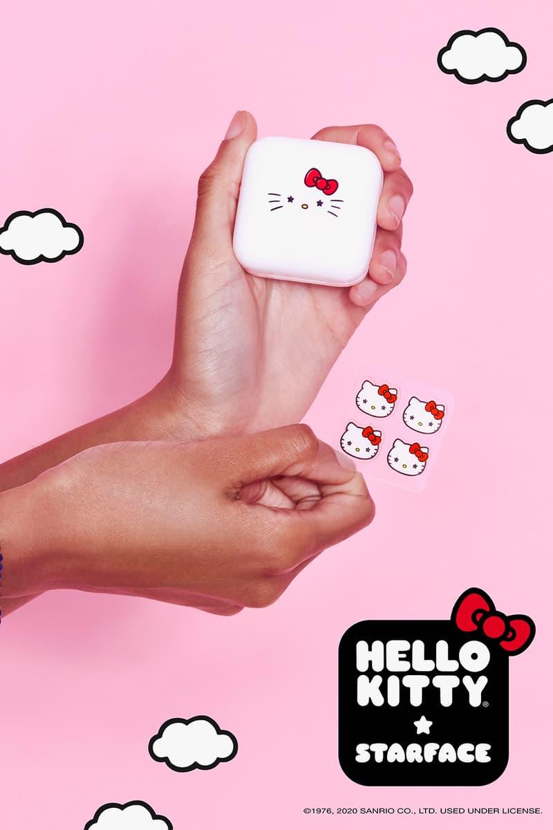 starface sanrio hello kitty collaboration hydro stars pimple patch skincare