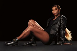 Picture of Serena Williams Takes Center Stage in Stuart Weitzman's Winter Campaign