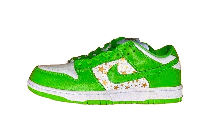 Supreme x Nike SB Dunk Low FW20 Collaboration First Look Release Information Colorways Hyper Blue Mean Green Black Barkroot Brown