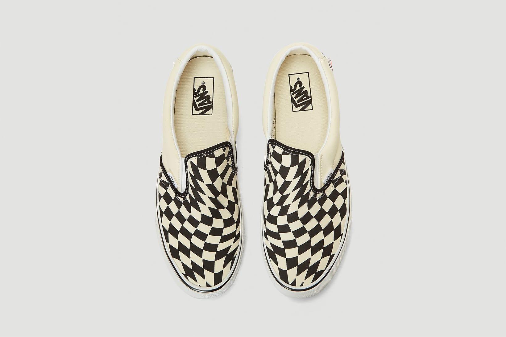 Vans Checkerboard Slip-On Twist
