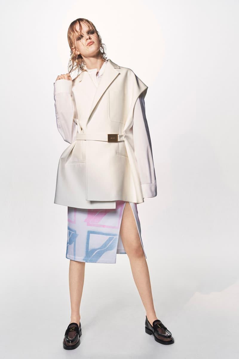 we11done homesick spring summer 2021 womenswear lookbook dresses coats denim dami kwon jessica jung katie grand