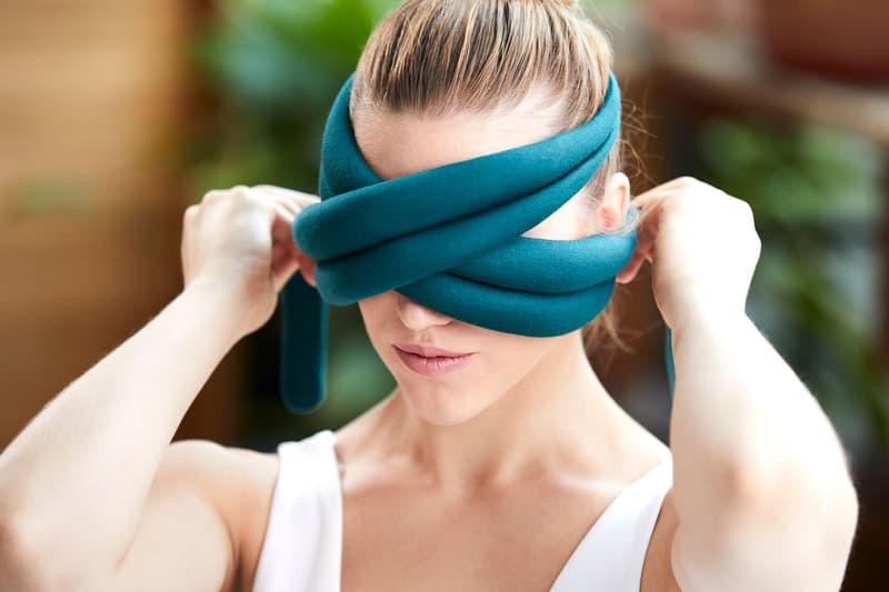 Ostrichpillow Loop Eye Pillow Teal