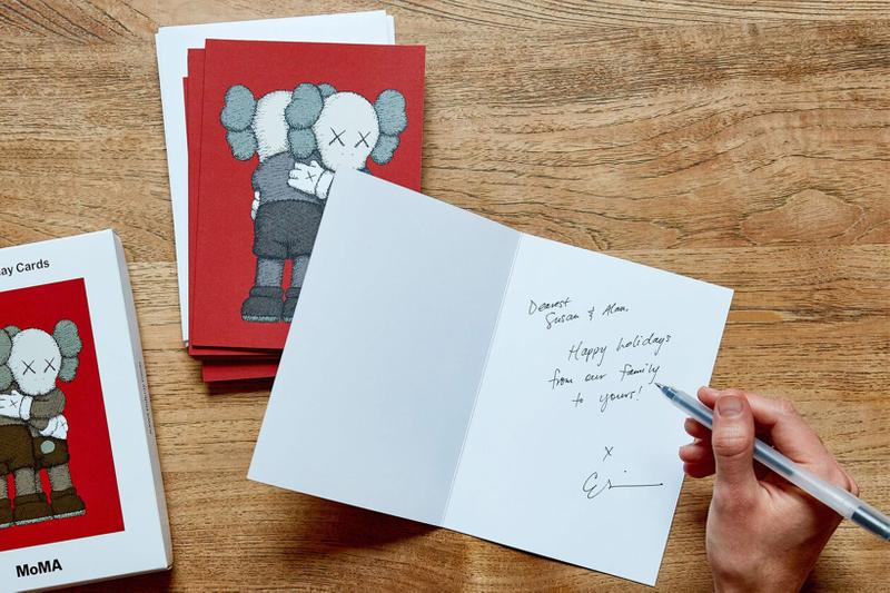 2020 holiday christmas cards gifts best kaws