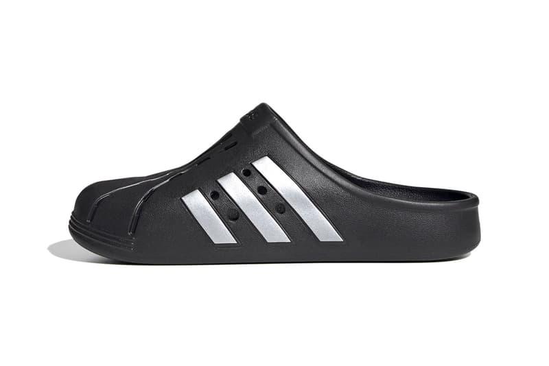 adidas adilette clogs slides slippers mules pink grey footwear