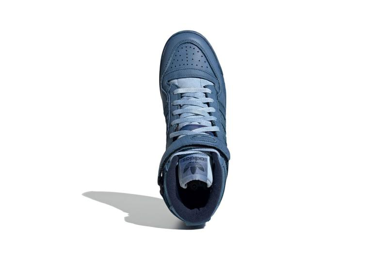 adidas forum 84 high sneakers indigo blue colorway shoes footwear sneakerhead