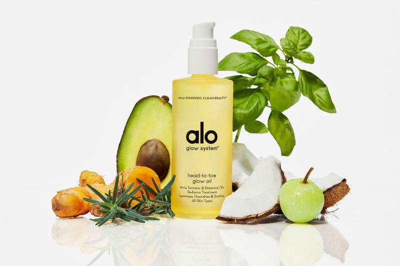 alo yoga glow system skincare body care collection clean beauty sustainable cleanser