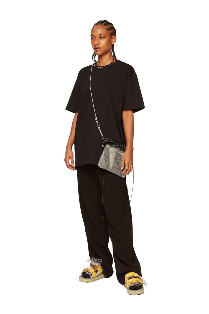 atelier new regime montreal brand fall winter lookbook logo crossbody bag sweats slides slippers