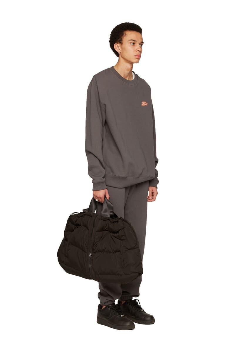 atelier new regime montreal brand fall winter lookbook gray brown logo sweats