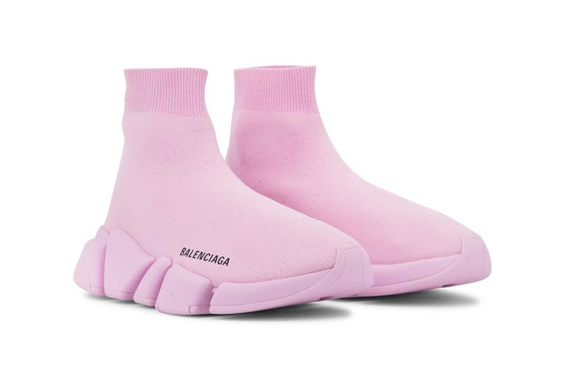 balenciaga speed 2 0 sneakers light pink colorway shoes footwear designer shoes