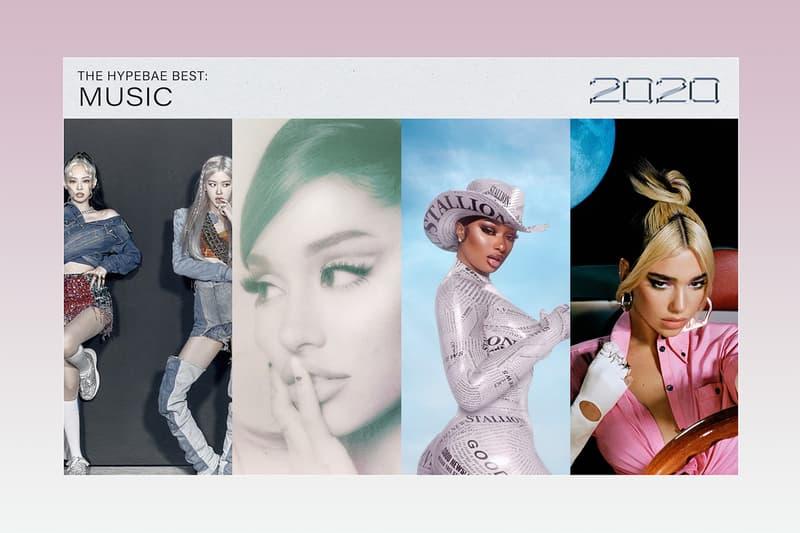 Best Music Albums Songs 2020 BLACKPINK K-pop Girl Group Jennie Rosé Ariana Grande Positions Megan Thee Stallion Good News Dua Lipa Future Nostalgia