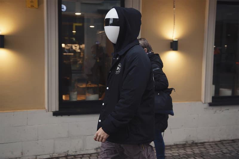 blanc face masks covid19 coronavirus daft punk black white filters kickstarter crowdfunding design