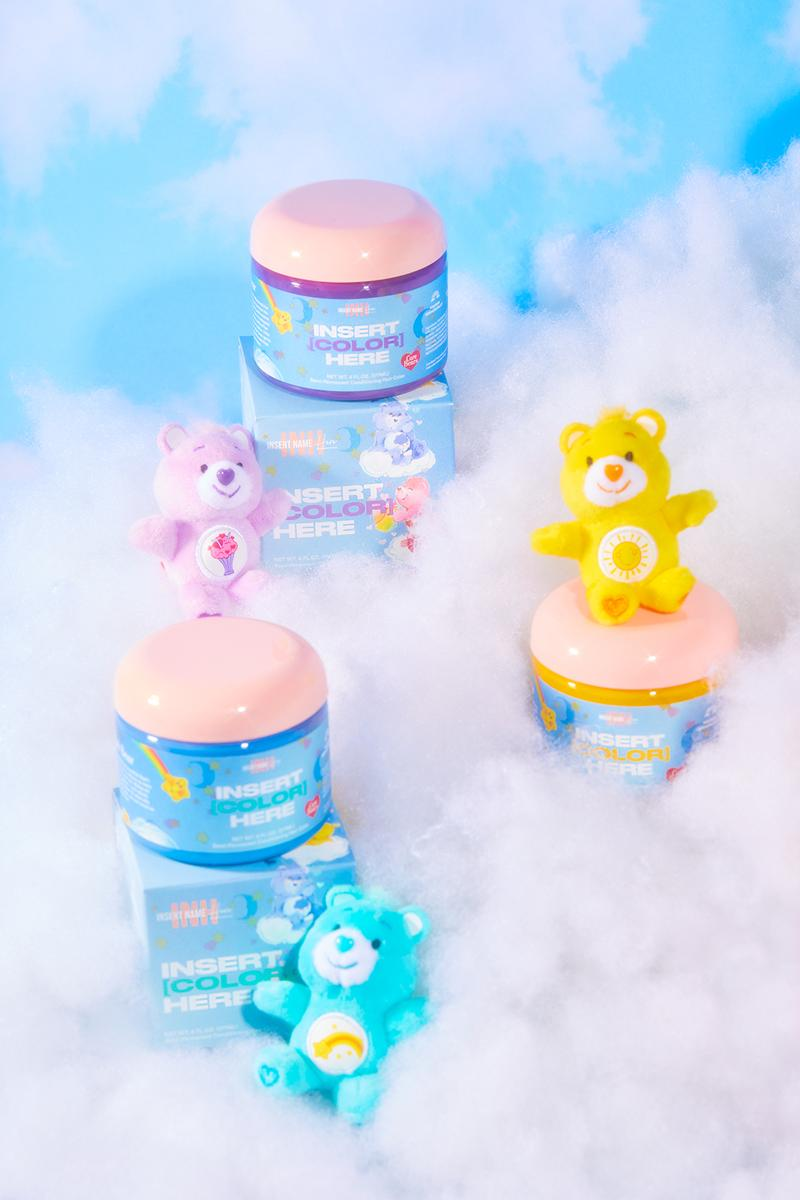 Care Bears x Insert Name Here INH Hair Dye Collaboration Color Collection