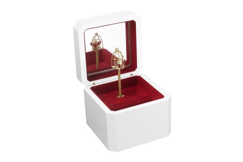 cartier luxury home objects decor collection holiday christmas diabolo music box