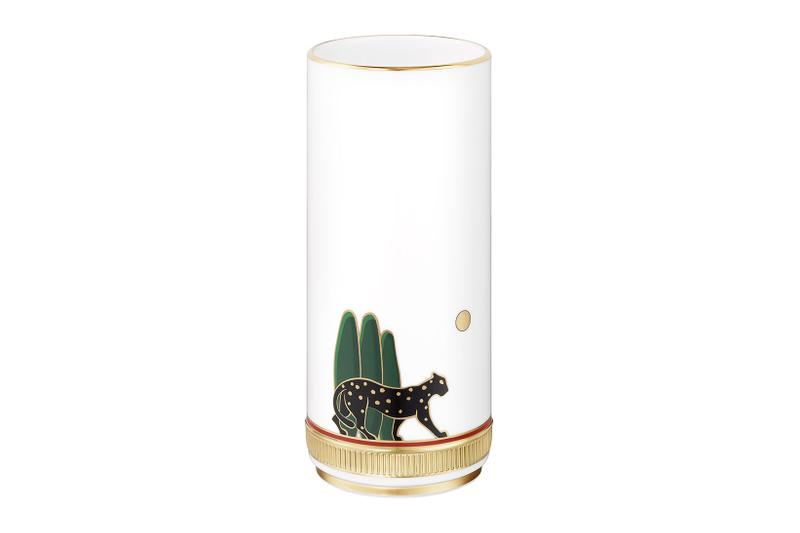 cartier luxury home objects decor collection holiday christmas vase