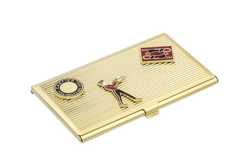 cartier luxury home objects decor collection holiday christmas diabolo card holder