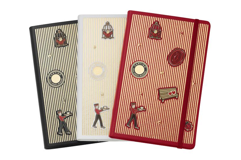 cartier luxury home objects decor collection holiday christmas diabolo planner diary notebook